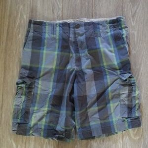 Other - Cargo Shorts. Grey and green